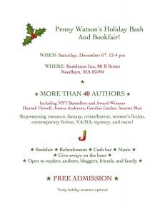 Penny Watson's HOLIDAY BASH new ad